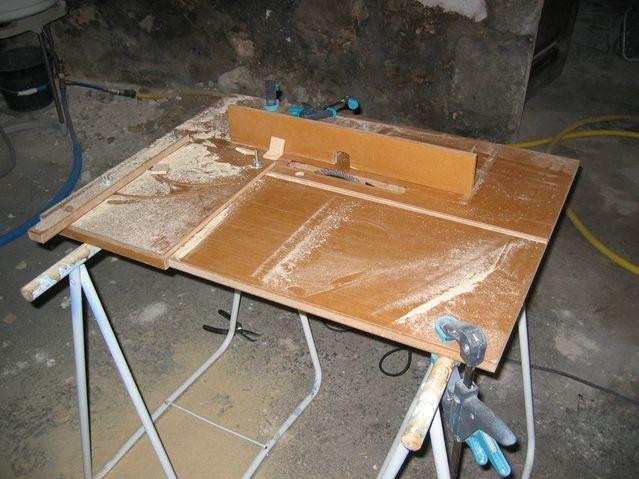 table a scie circulaire fabriquer table de lit